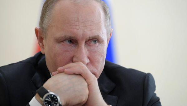Президент РФ В. Путин посетил Кемерово - Sputnik Արմենիա