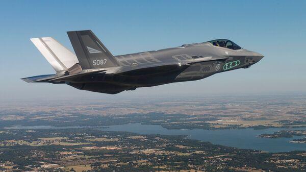 Հիգերորդ սերնդի F-35 ռազմական ինքնաթիռ - Sputnik Արմենիա