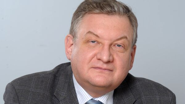 Проректор Финансового университета при правительстве РФ Алексей Зубец - Sputnik Армения