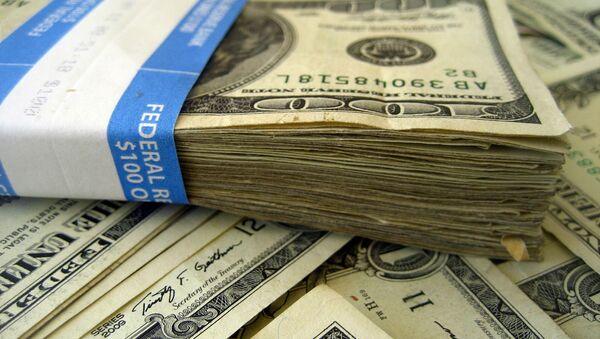 Пачка стодолларовых банкнот - Sputnik Արմենիա