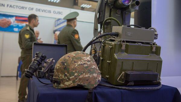 Выставка оборонных технологий ArmHiTec 2018 в Ереване оружие - Sputnik Армения