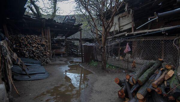 Двор сельского дома - Sputnik Արմենիա