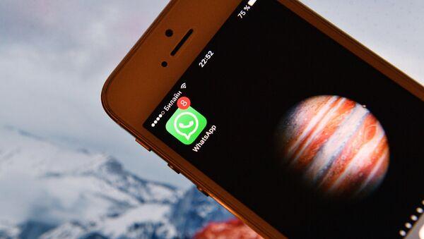 Иконка мессенджера WhatsApp на экране смартфона. - Sputnik Армения
