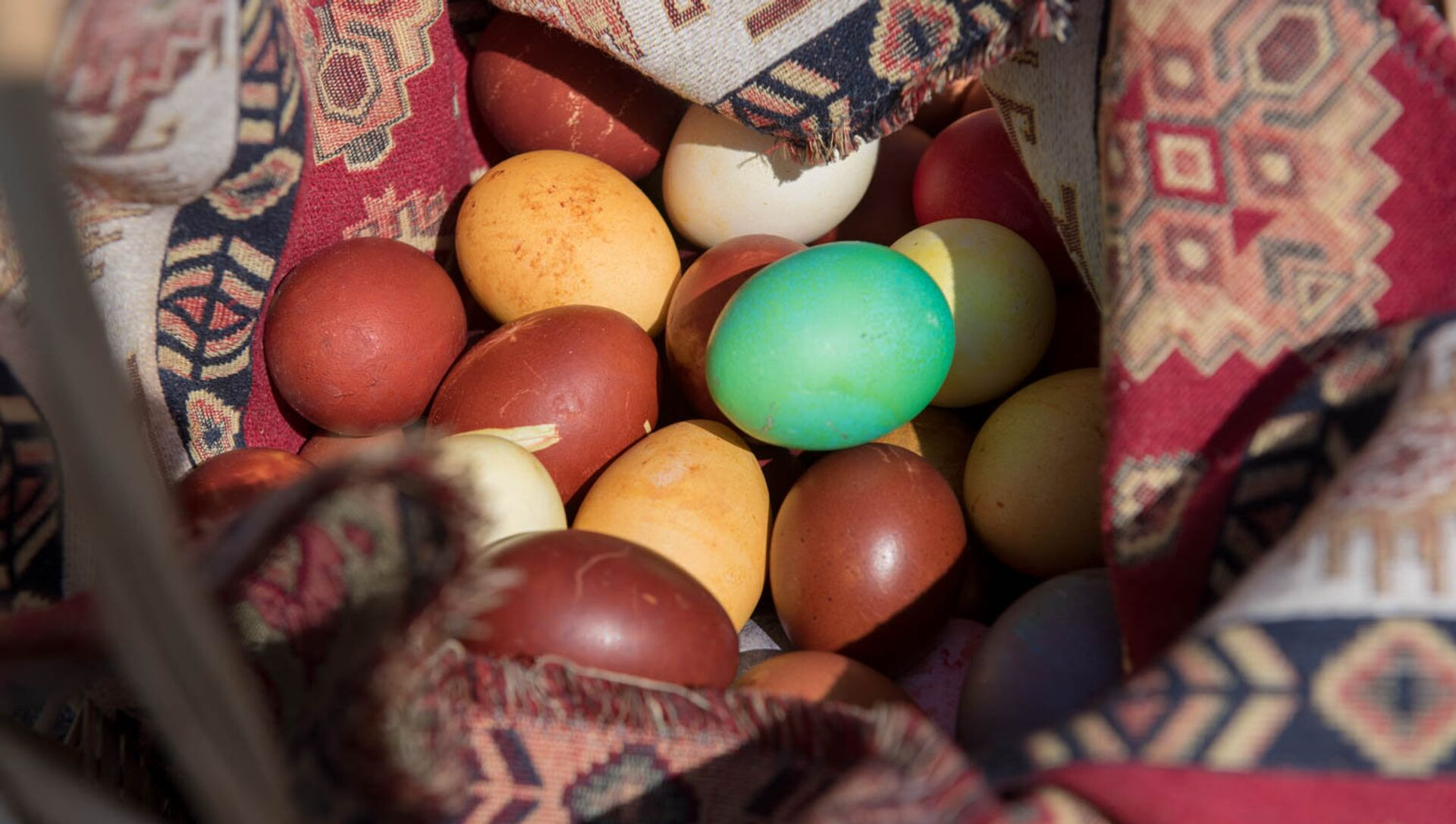 Праздничные крашенные яйца - Sputnik Արմենիա, 1920, 02.04.2021