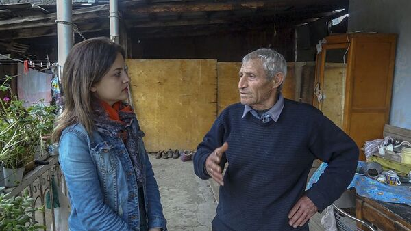 Дедушка Арис из села Шатин рассказал о том, как жилось с соседями-азербайджанцами - Sputnik Армения