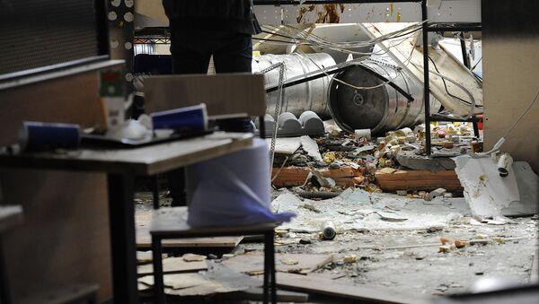 Взрыв в ресторане Бургер кинг в Ереване - Sputnik Արմենիա