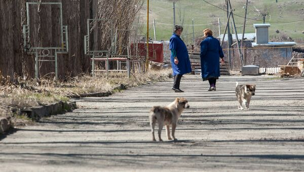 Весна в селе Гагарин, Гегаркуник - Sputnik Արմենիա