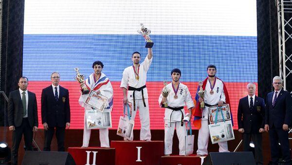 Закрытие чемпионата Европы по Киокушинкай карате - Sputnik Армения