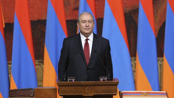 Инаугурация 4-го президента Армении Армена Саркисяна - Sputnik Արմենիա