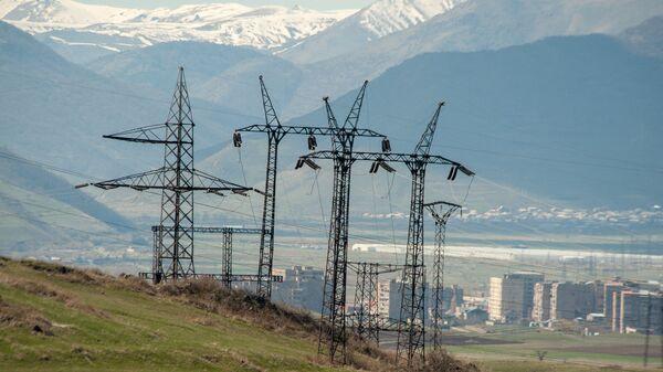 Линия электропередач - Sputnik Армения