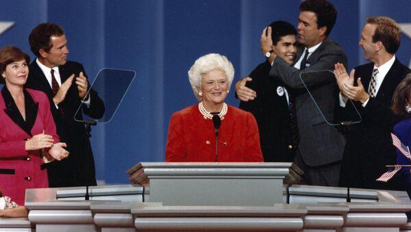 Выступление Барбары Буш на Республиканском Национальном съезде (19 августа 1992). США - Sputnik Արմենիա