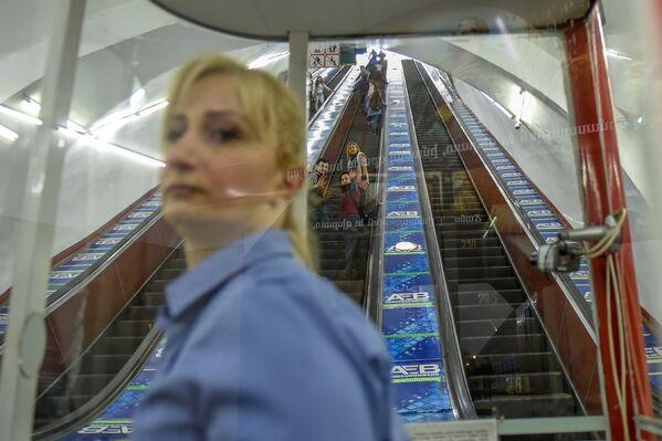 Մետրոյի Երիտասարդական կայարանում - Sputnik Արմենիա