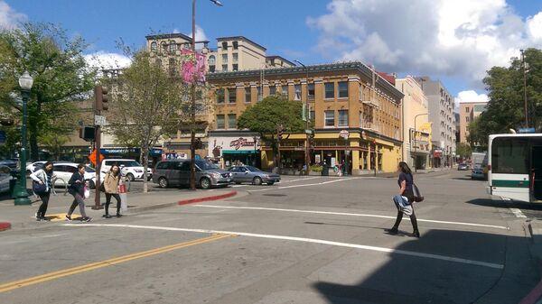 Улица в Беркли в Калифорнии - Sputnik Армения