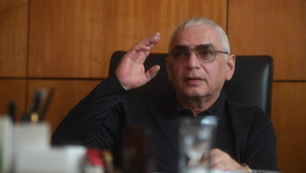 Советский и российский кинорежиссёр, сценарист, кинопродюсер и общественный деятель Карен Шахназаров - Sputnik Армения