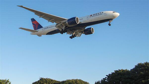 Самолет Boeing 777-200LR авиакомпании Delta Air Lines - Sputnik Армения