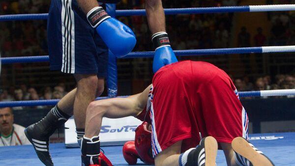 Бокс. Чемпионат Европы, архив  - Sputnik Արմենիա