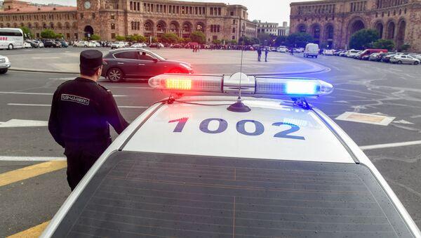 Полиция Армении. - Sputnik Армения