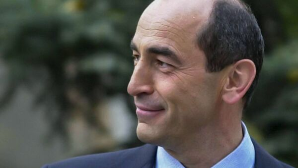 Второй Президент Армении Роберт Кочарян - Sputnik Армения