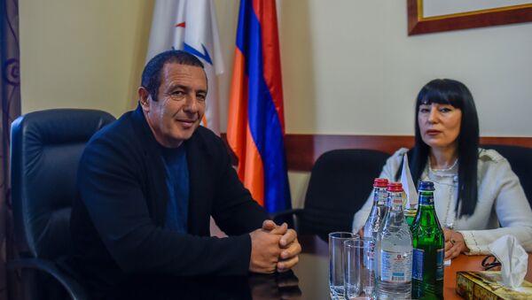 Лидер фракции Процветающая Армения Гагик Царукян (1 мая 2018). Еревaн - Sputnik Արմենիա