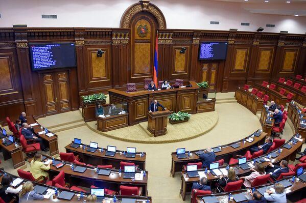 Ազգային ժողովի հատուկ նիստը - Sputnik Արմենիա