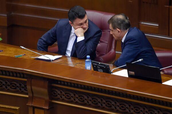 Արա Բաբլոյանն ու Էդուարդ Շարմազանովը - Sputnik Արմենիա