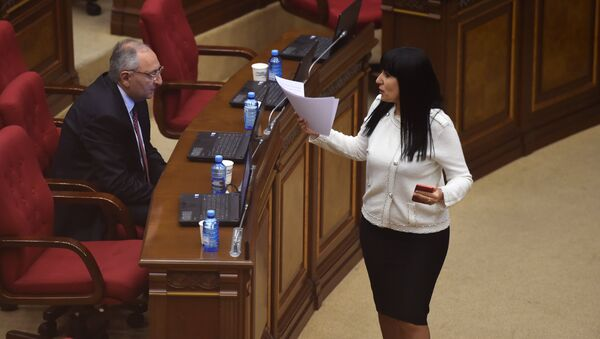 Специальное заседание парламента по выборам нового премьер-министра Армении (1 мая 2018). Еревaн - Sputnik Армения