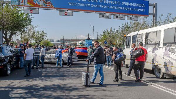 Международный аэропорт Звартноц (2 мая 2018) - Sputnik Армения
