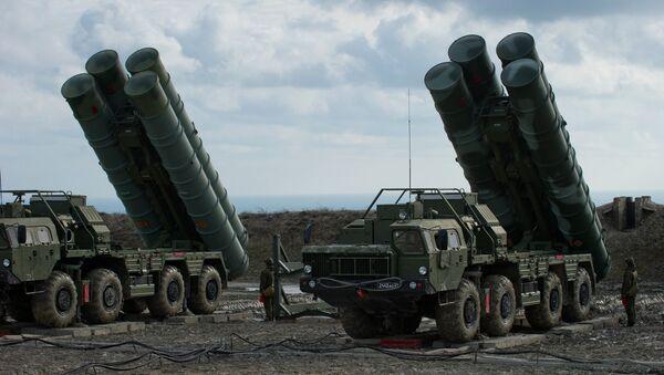 Зенитный ракетный комплекс С-400 Триумф - Sputnik Армения