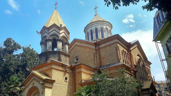 Церковь Сурб Пркич. Батуми, Грузия - Sputnik Армения
