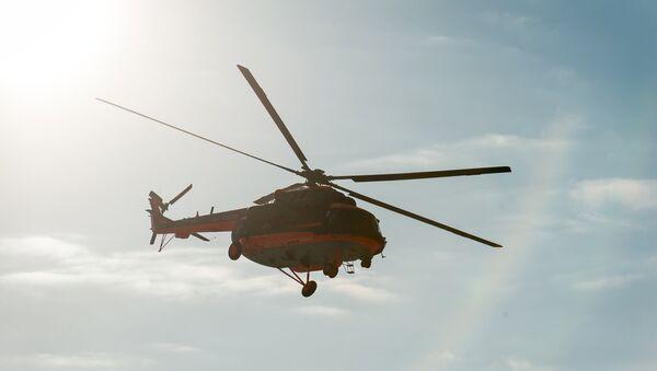 Летные испытания арктического вертолета Ми-8АМТШ-ВА на Улан-Удэнском авиационном заводе - Sputnik Армения