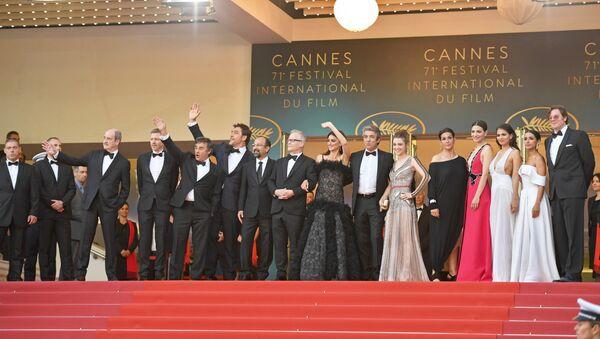 Церемония отрытия 71-го Каннского кинофестиваля (8 мая 2018). Канны, Франция - Sputnik Արմենիա