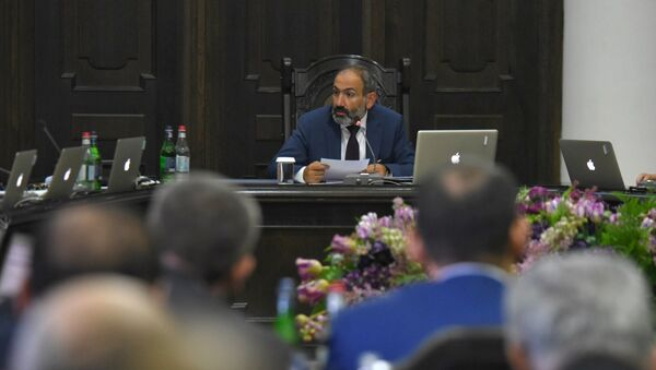 Заседание правительства Армении (11 мая 2018). Еревaн - Sputnik Армения
