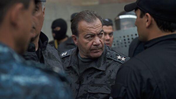 Командующий войсками Полиции РА, заместителя начальника Полиции Левон Ераносян - Sputnik Արմենիա