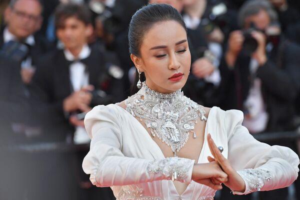 Չինացի դերասանուհի Միյա Մուցին Կաննի 71–րդ փառատոնում - Sputnik Արմենիա