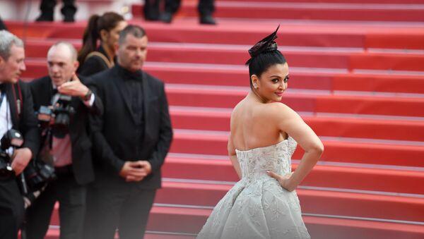 Индийская модель и актриса Айшвария Рай Баччан на красной дорожке 71-го Каннского кинофестиваля (13 мая 2018). Канны, Франция - Sputnik Армения