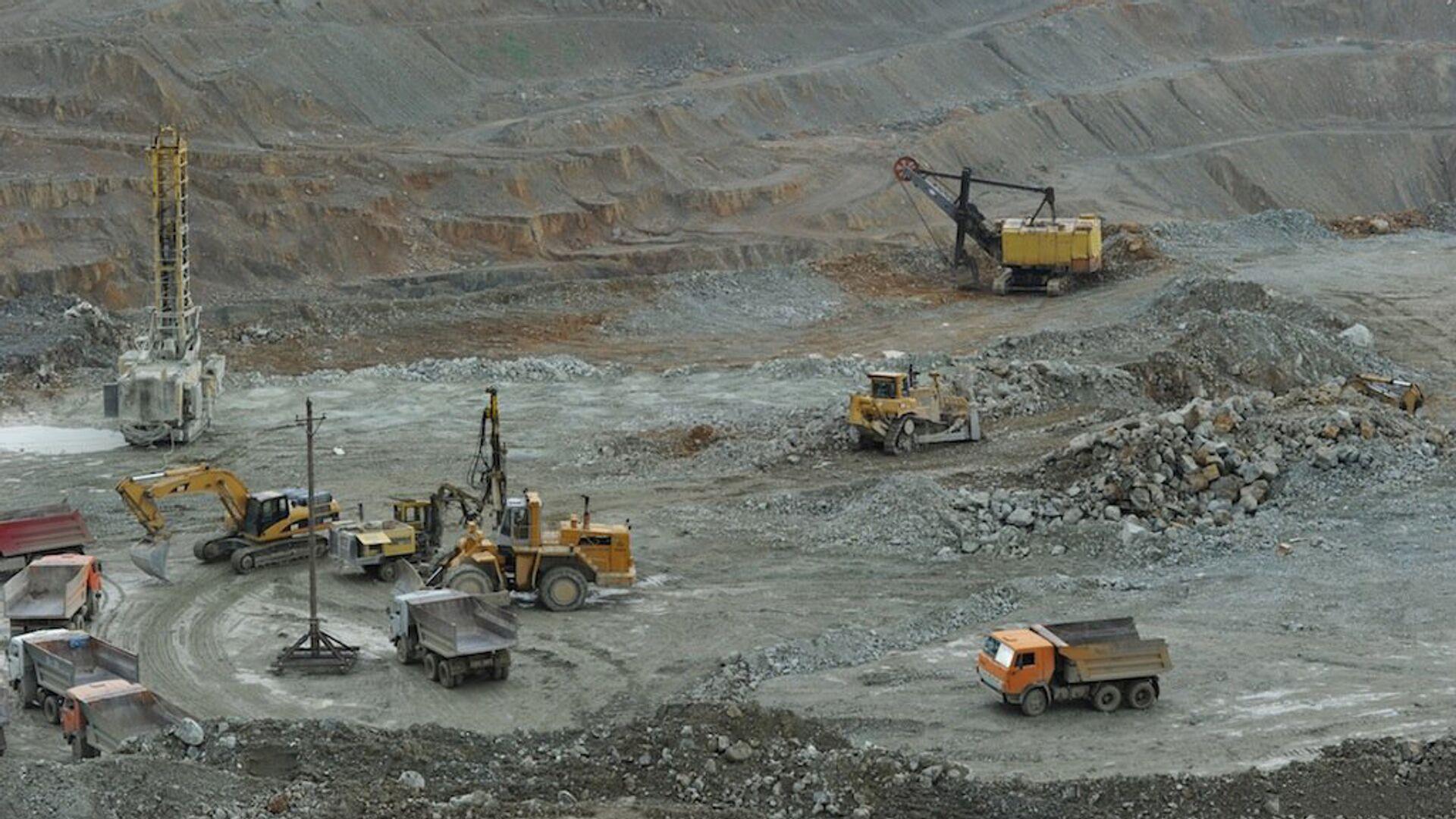 Золотодобывающий рудник компании ГеоПроМайнинг Голд - Sputnik Армения, 1920, 23.09.2021