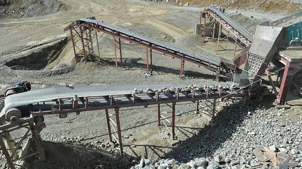 Золотодобывающий рудник компании ГеоПроМайнинг Голд - Sputnik Армения