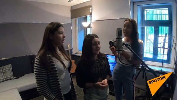 Алсу спела с участницами телевизионного шоу Ты супер! - Sputnik Армения