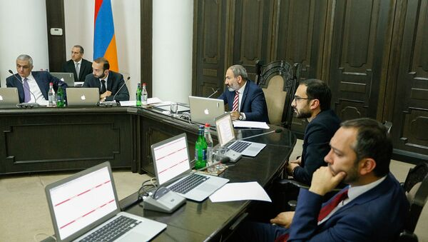 Внеочередное заседание правительства Армении (22 мая 2018). Еревaн - Sputnik Армения