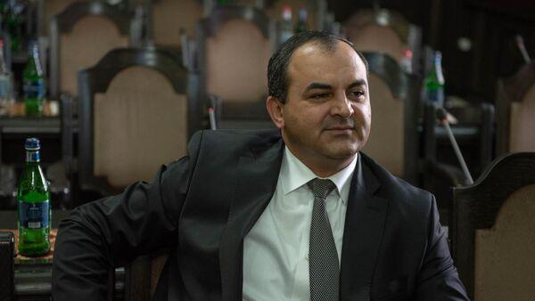 Генеральный прокурор Армении Артур Давтян на заседании правительства Армении (24 мая 2018). Еревaн - Sputnik Армения