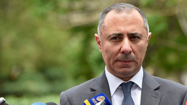 Министр энергетических инфраструктур и природных ресурсов Артур Григорян - Sputnik Армения