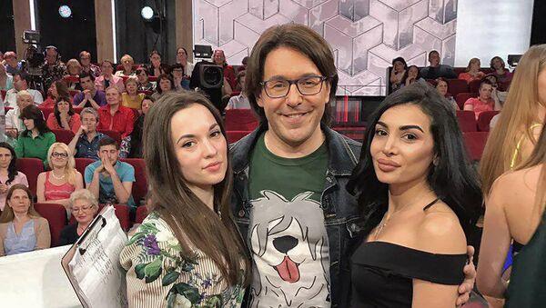 Диетолог Лилит Бабасян на съемках ток-шоу Андрей Малахов. Прямой эфир - Sputnik Армения