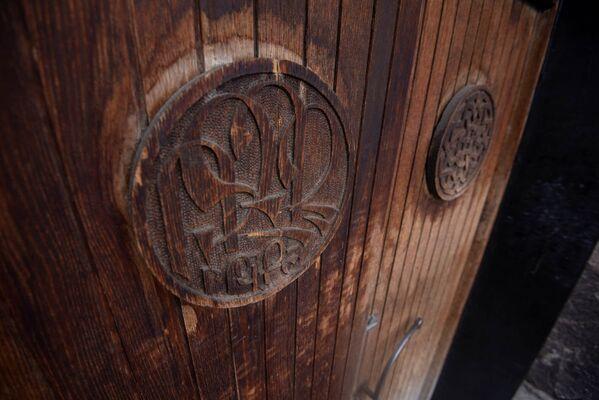 Резная дверь. Касахская базилика - Sputnik Армения