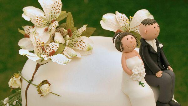 Украшение свадебного торта - Sputnik Армения