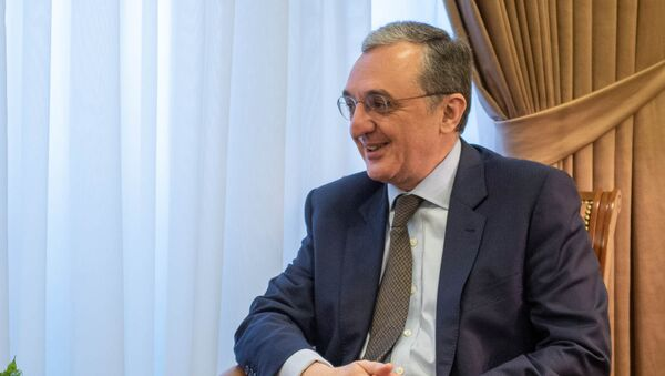Министр иностранных дел Армении Зограб Мнацаканян - Sputnik Армения