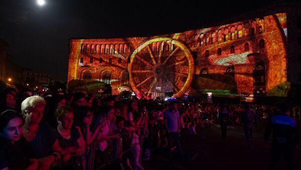 Праздничный концерт, приуроченный к 100-летию провозглашения Первой Республики (28 мая 2018). Еревaн - Sputnik Արմենիա
