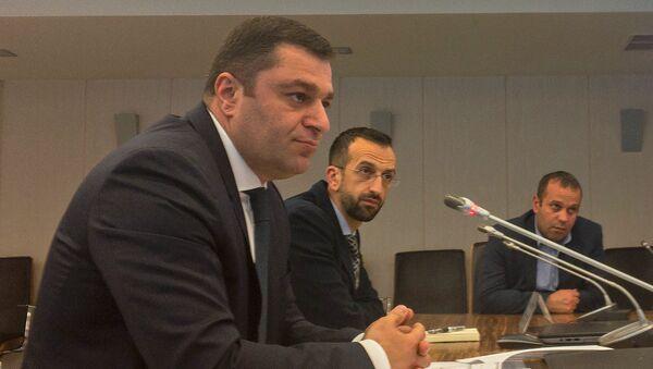 Начальник управления по стабильности и развитию финансовой системы ЦБ РА Андраник Григорян - Sputnik Армения