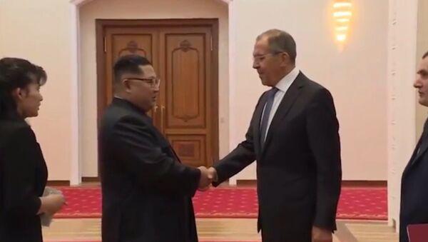 Встреча Сергея Лаврова и Ким Чен Ына в КНДР - Sputnik Армения