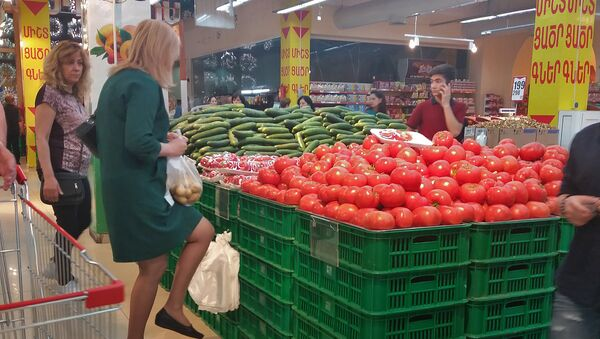 Супермаркет Ереван сити - Sputnik Արմենիա