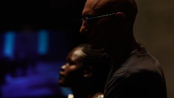 Лауреат премии Аврора доктор Том Катена (Судан) в музее-институте Геноцида армян (4 июня 2018). Еревaн - Sputnik Արմենիա